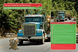 Share the road with trucks